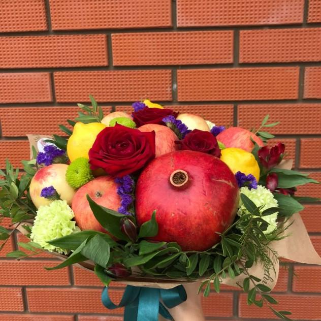 Фруктово-цветочный микс